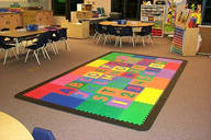 Classroom, reading, play and exercise mats for instutional use